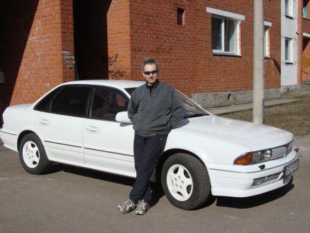 Mitsubishi Sigma 1992 - отзыв владельца