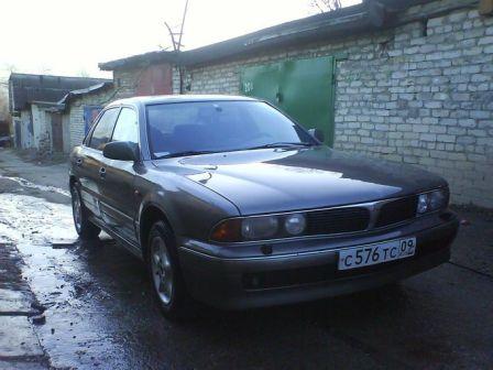 Mitsubishi Sigma 1994 - отзыв владельца