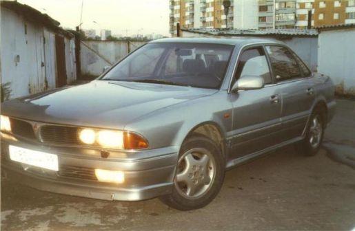 Mitsubishi Sigma 1991 - отзыв владельца