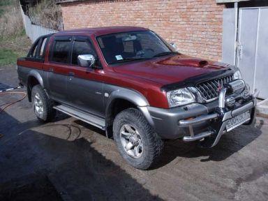 Mitsubishi Strada 2003 отзыв автора | Дата публикации 16.04.2006.