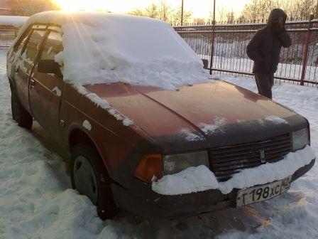 Москвич Москвич 1993 - отзыв владельца