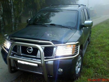 Nissan Armada 2004 - отзыв владельца