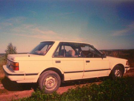 Nissan Bluebird 1985 - отзыв владельца