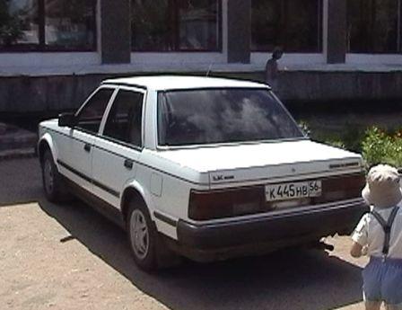 Nissan Bluebird 1986 - отзыв владельца