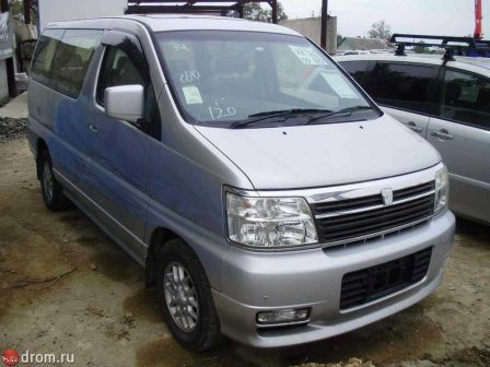 Nissan Caravan Elgrand 2000 - отзыв владельца