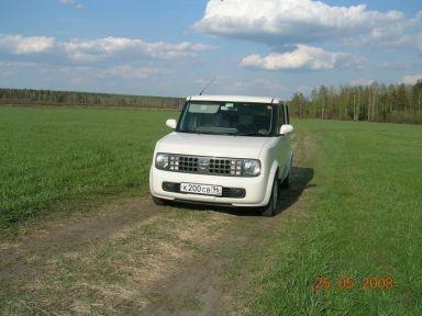 Nissan Cube 2004 отзыв автора | Дата публикации 01.06.2008.