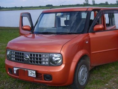 Nissan Cube 2003 отзыв автора | Дата публикации 20.09.2008.