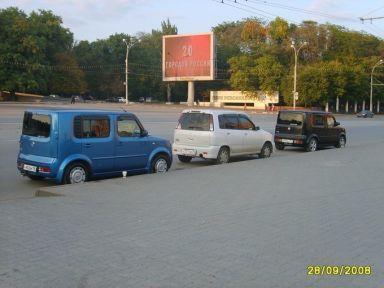Nissan Cube 2004 отзыв автора | Дата публикации 20.03.2009.