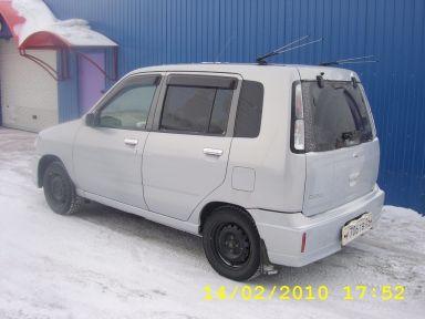 Nissan Cube 2001 отзыв автора | Дата публикации 07.03.2010.