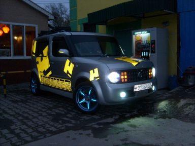 Nissan Cube 2002 отзыв автора | Дата публикации 06.12.2011.