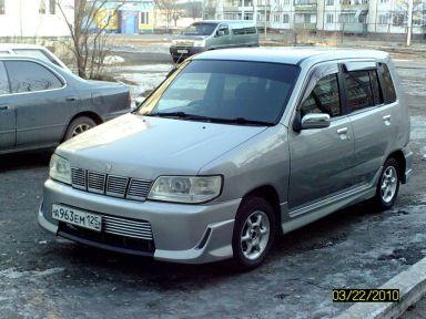 Nissan Cube 2001 отзыв автора | Дата публикации 25.12.2011.