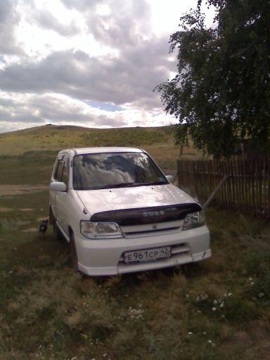 Nissan Cube 2001 отзыв автора | Дата публикации 22.02.2012.