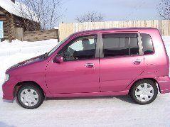 Nissan Cube 2001 - отзыв владельца