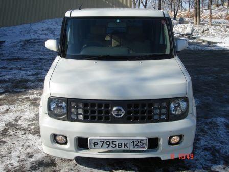 Nissan Cube 2003 - отзыв владельца