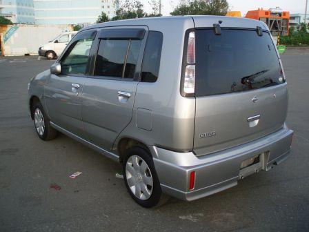 Nissan Cube 2002 - отзыв владельца