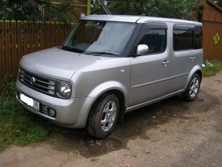 Nissan Cube Cubic 2004 - отзыв владельца
