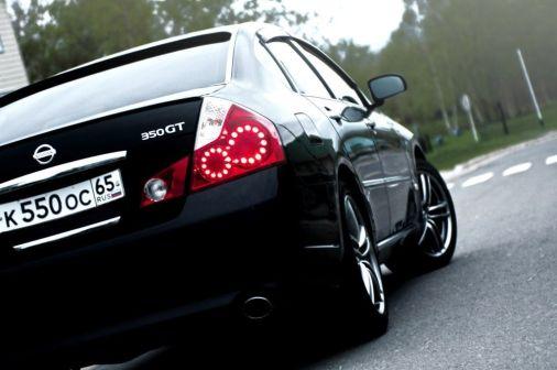 Nissan Fuga 2005 - отзыв владельца