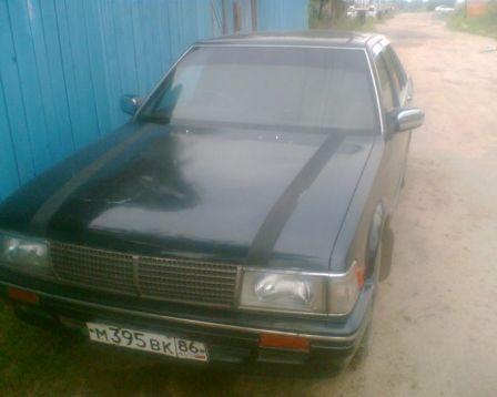Nissan Gloria 1987 - отзыв владельца