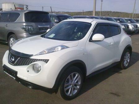 Nissan Juke 2011 - отзыв владельца