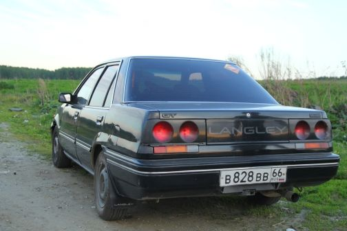 Nissan Langley 1987 - отзыв владельца