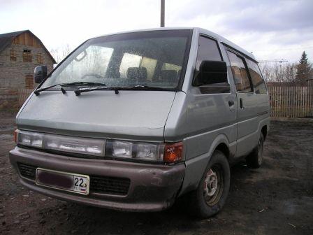 Nissan Largo 1987 - отзыв владельца