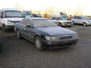 Nissan Laurel, 1990