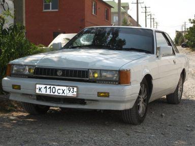 Nissan Leopard 1982 отзыв автора | Дата публикации 11.08.2012.
