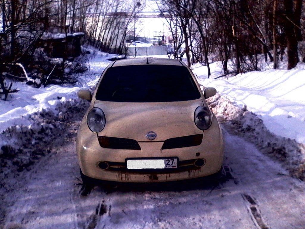 штурмуем снежную гору:)