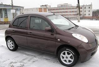 Nissan March 2003 отзыв автора | Дата публикации 19.12.2006.