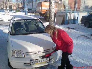 Nissan March 2001 отзыв автора   Дата публикации 24.01.2008.