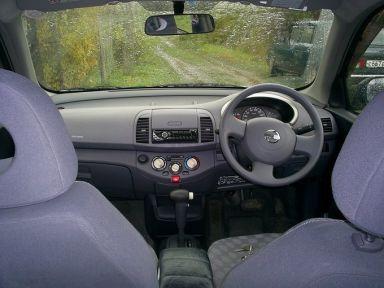 Nissan March 2002 отзыв автора | Дата публикации 10.10.2009.