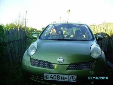 Nissan March 2002 отзыв автора | Дата публикации 05.03.2011.