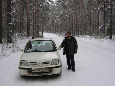 Nissan March 2001 отзыв автора | Дата публикации 24.12.2011.