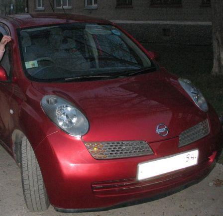 Nissan March 2004 - отзыв владельца