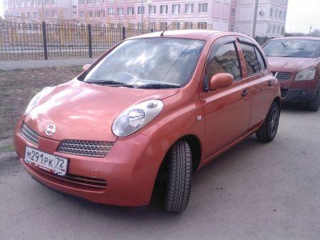 Nissan March 2003 - отзыв владельца