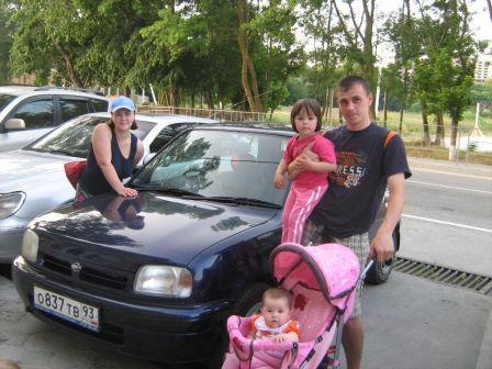 Nissan March 1997 - отзыв владельца