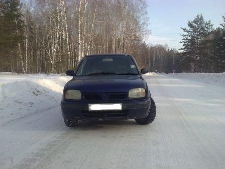 Nissan March 1996 - отзыв владельца
