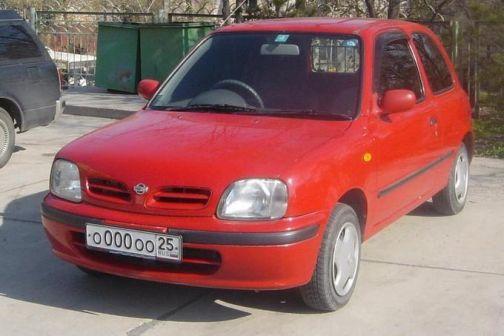 Nissan March 1998 - отзыв владельца