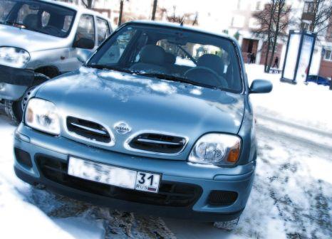 Nissan Micra 2002 - отзыв владельца