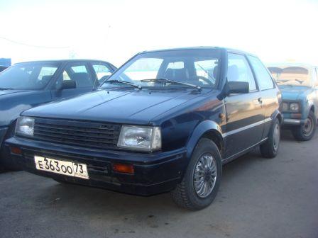 Nissan Micra 1988 - отзыв владельца