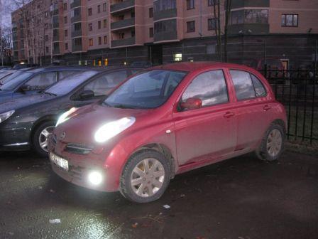 Nissan Micra 2007 - отзыв владельца