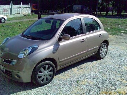 Nissan Micra 2008 - отзыв владельца