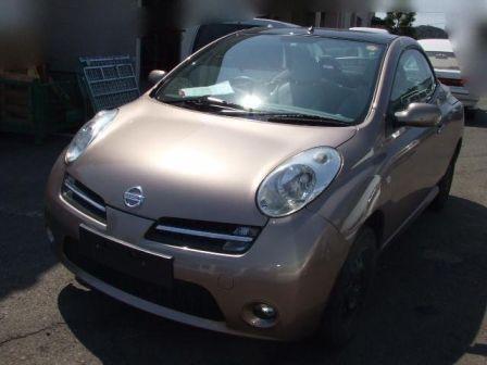 Nissan Micra C+C 2007 - отзыв владельца