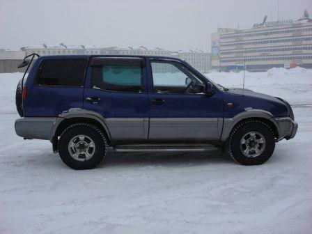 Nissan Mistral 1997 - отзыв владельца
