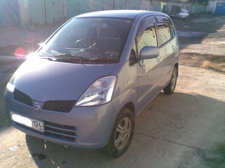 Nissan Moco 2003 - отзыв владельца