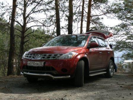 Nissan Murano 2006 - отзыв владельца