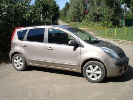 Nissan Note 2006 - отзыв владельца