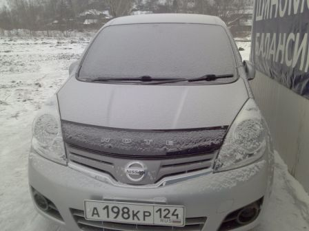 Nissan Note 2009 - отзыв владельца