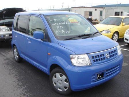 Nissan Otti 2005 - отзыв владельца