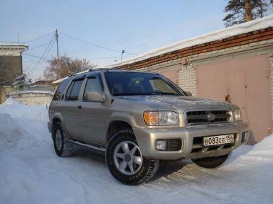 Nissan Pathfinder, 2000